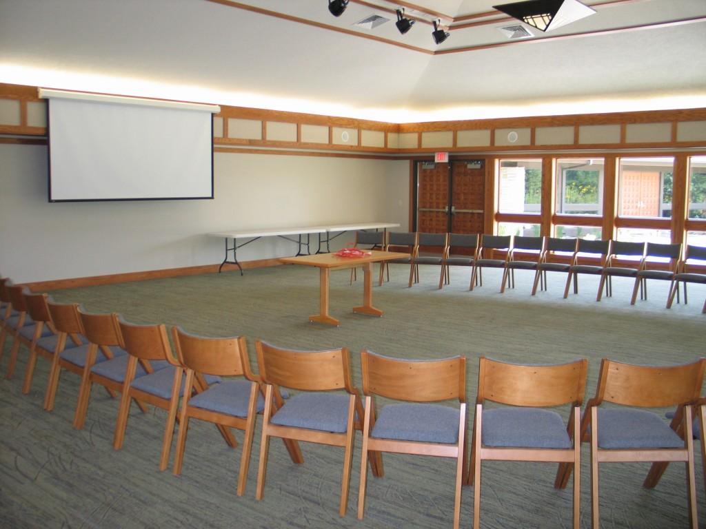 Prairie Pavilion indoors