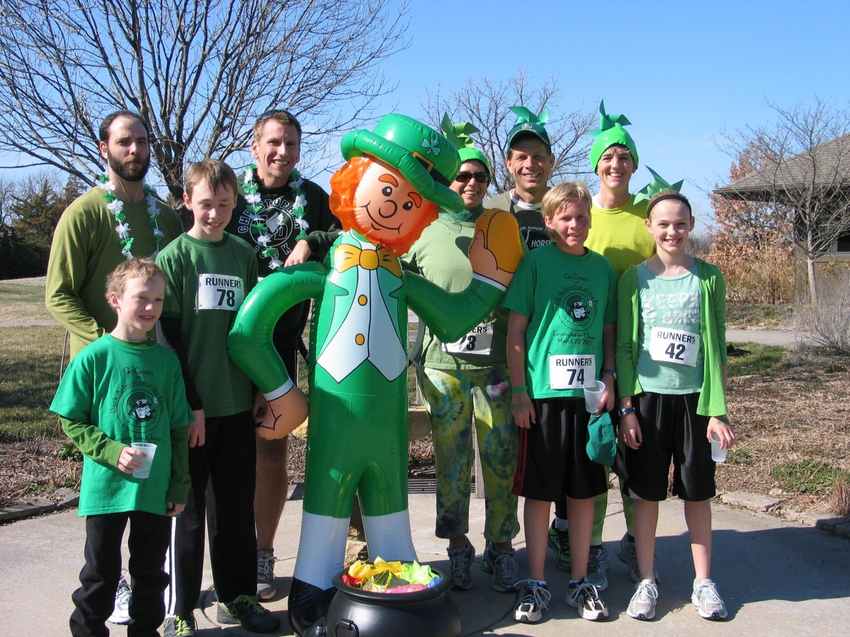 Leprechaun Chase Winners 2012