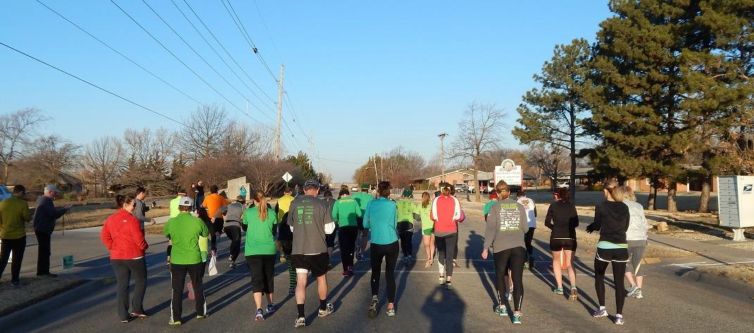 Lep Run 2014 10K Start