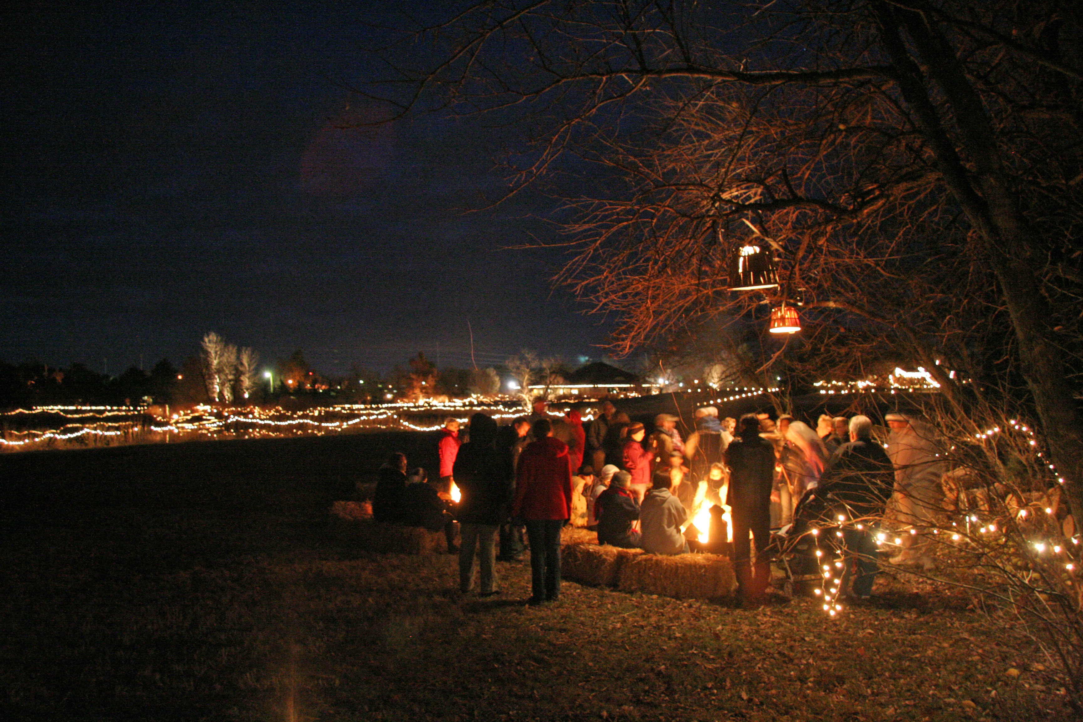 luminary-walk-2008-bonfire