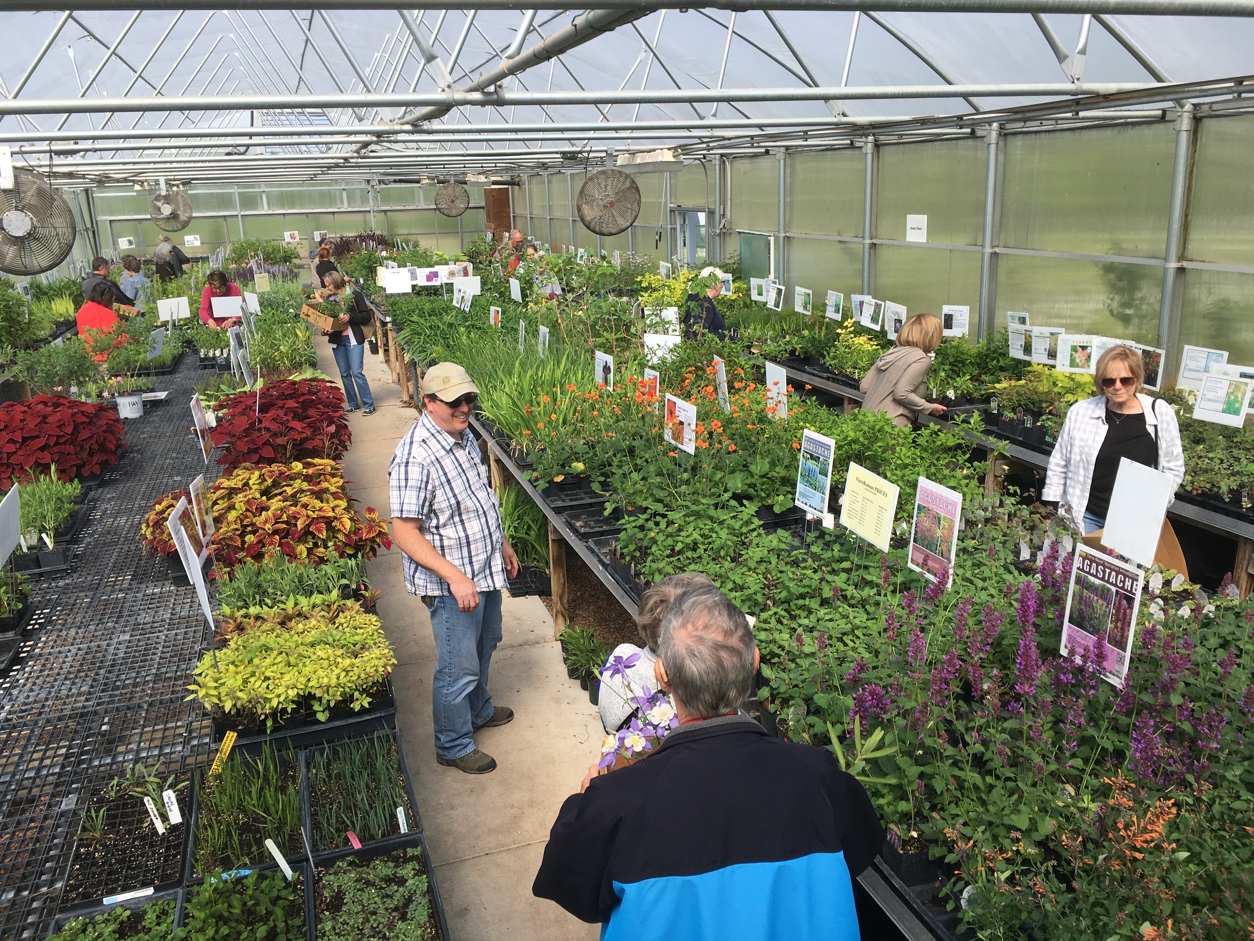 FloraKansas Spring Native Plant Festival: Member Day